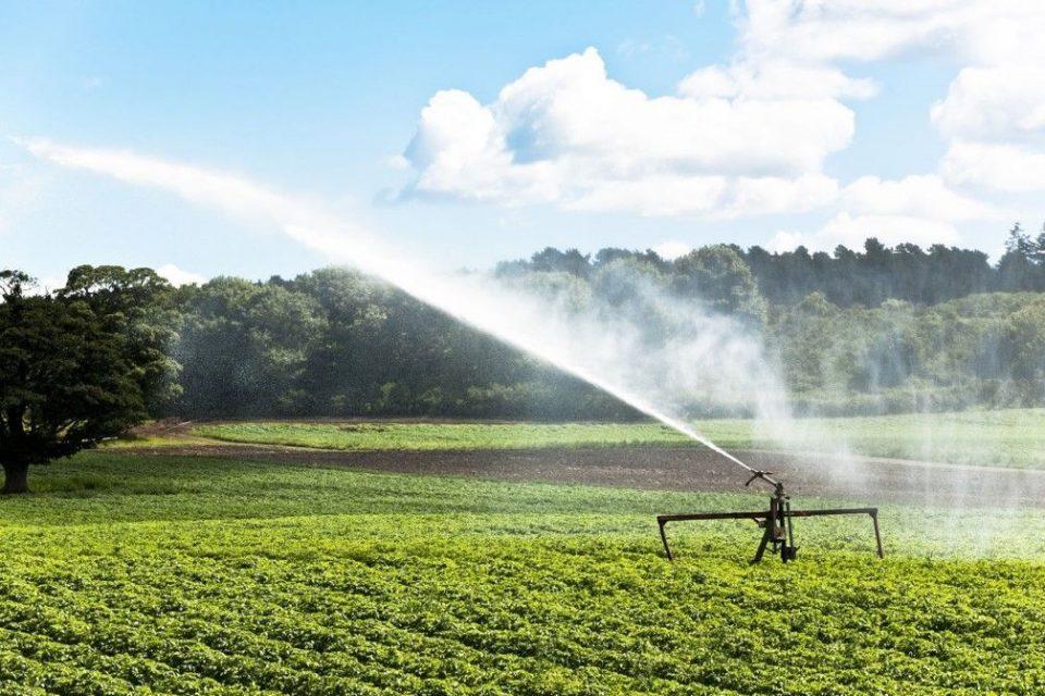 Irrigation pression